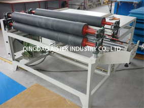 Edge / Corner sealing machine for PP hollow sheet